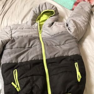 Other - Boys snow winter jacket. Used ONCE! Size 18